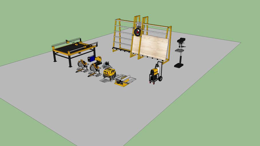 Maquinaria Taller Proyecto 024