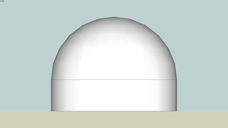 Ball cover part of a trailer coupler.