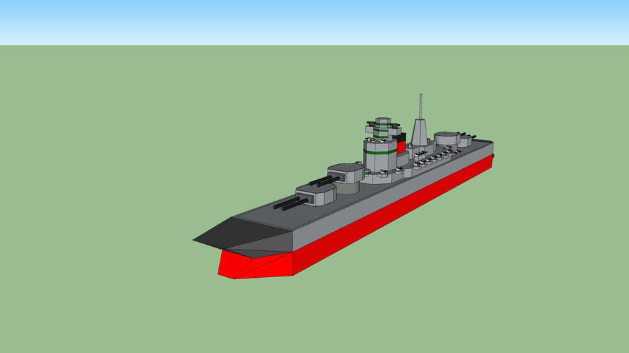 admiral class space battlecruiser
