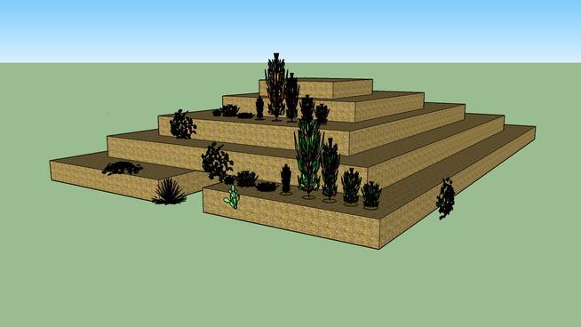 azteekse tempel