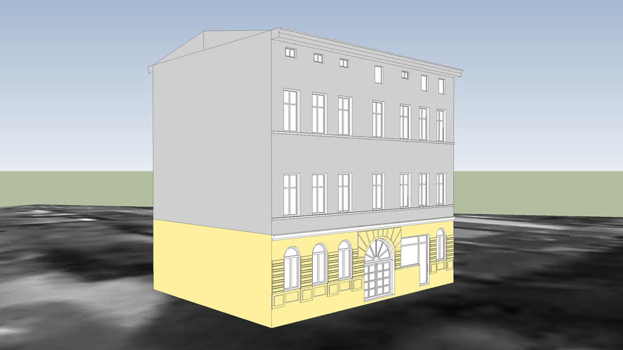 TENEMENT HOUSE ON 134 GDANSKA STREET IN BYDGOSZCZ