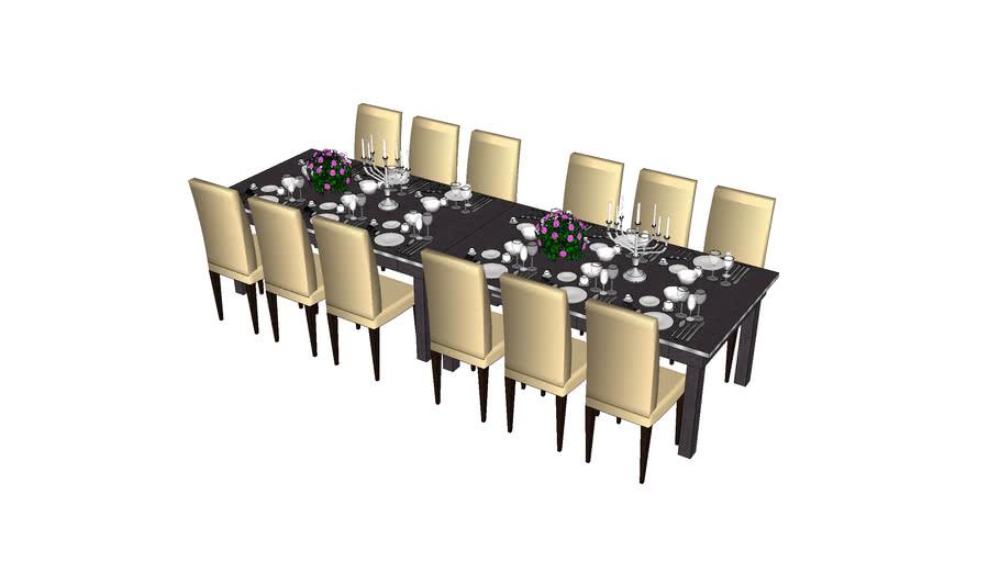 svečani dugi stol
