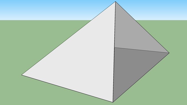 Rectangular Based Pyramid