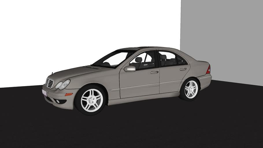 Mercedes-Benz C-Class C240 (AMG C32 Kit)