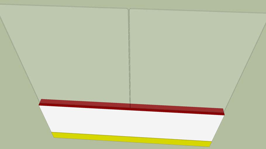 NHL Regulation Hockey Boards (Read Description)