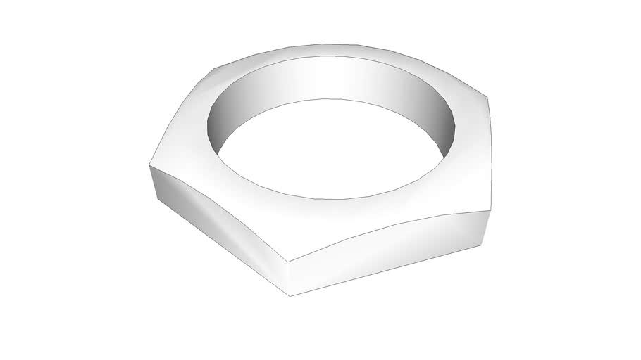 Контргайка STA латунная 15х6 мм