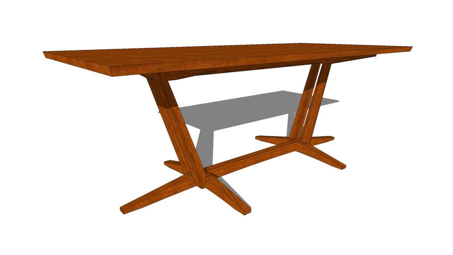 "Edo Trestle Table 83"""