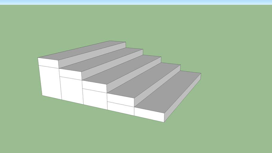 5 Stair Box