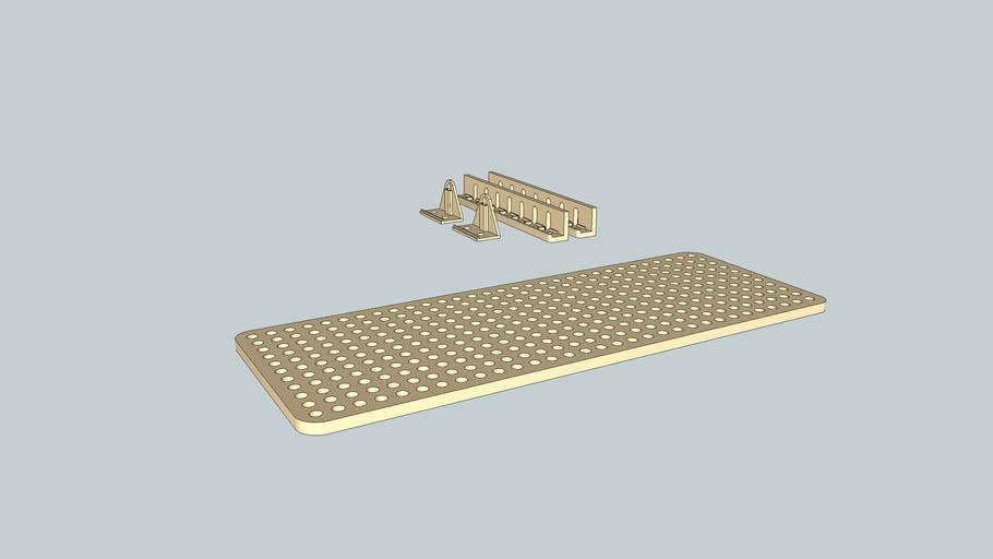 Tamiya Universal Plate Set 70098