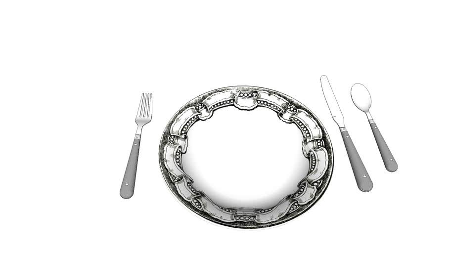 prato porcelana