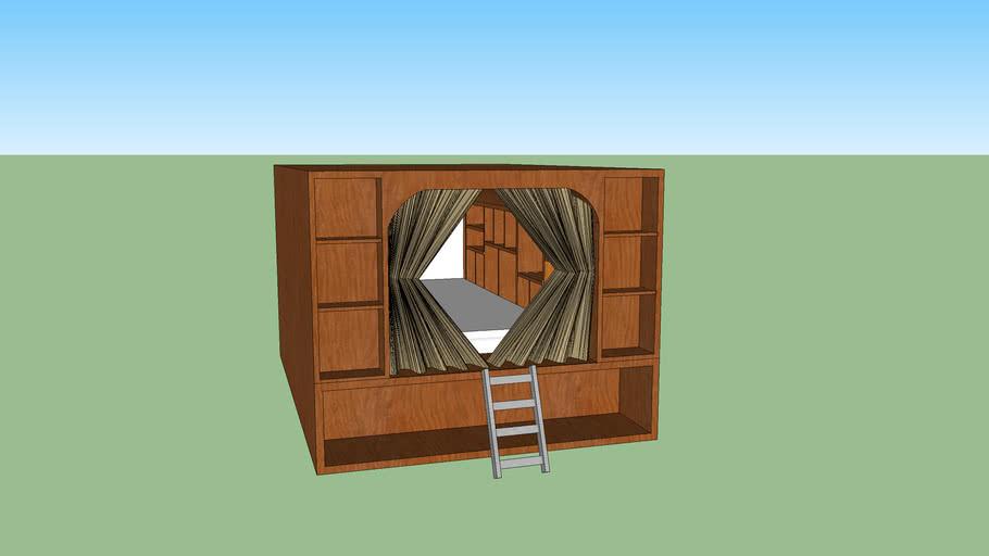 book bed box
