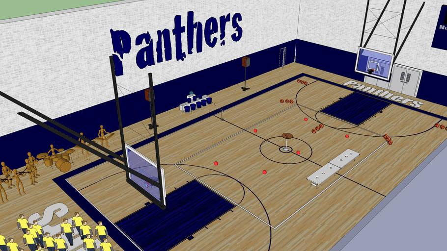 panther gym pep rally