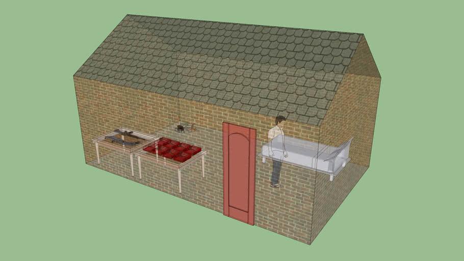zombie suvival house