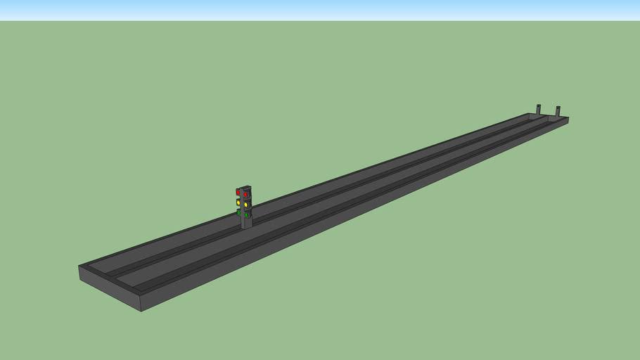 CO2 Car Race Track