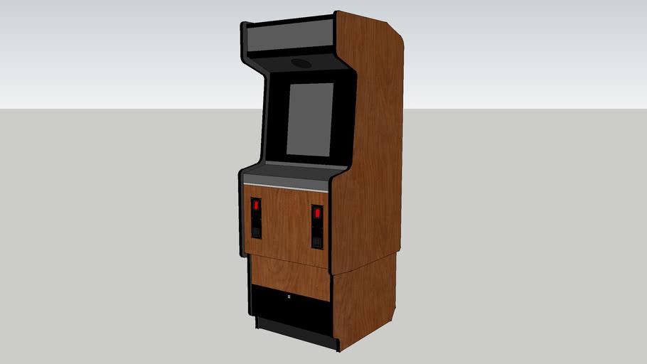 Generic arcade cabinet- Sega Classic