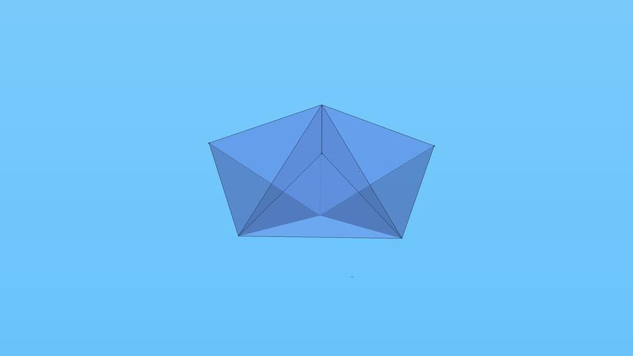 three tetrahedrons