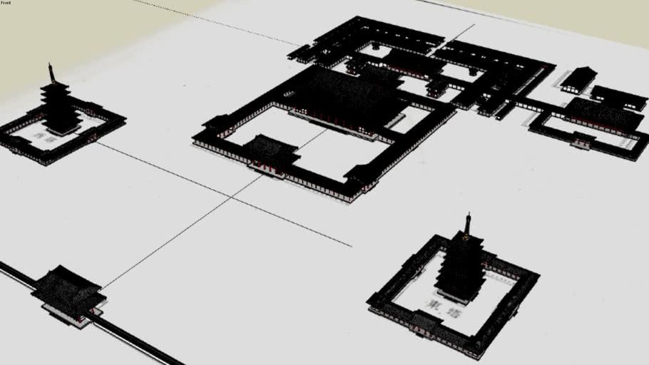 創建時の東大寺