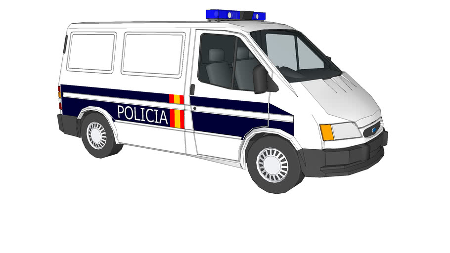 FORD TRANSIT 2000 POLICIA NACIONAL