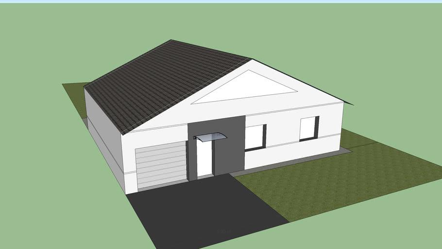 Maison de 90m2 centrale photovoltaique de 9kwc