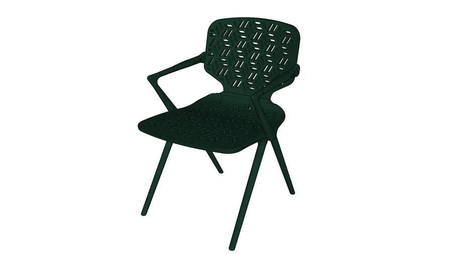 Cadeira Milá (com braço) - outdoor