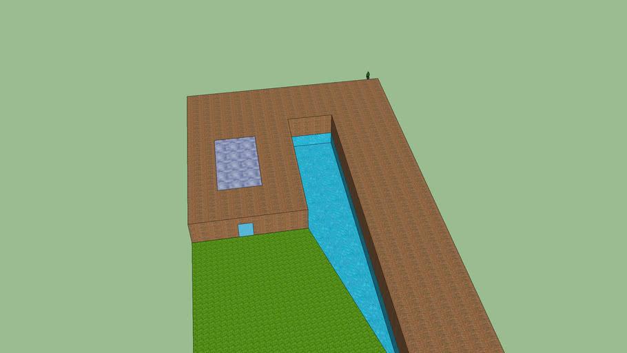 casa rurale con piscina