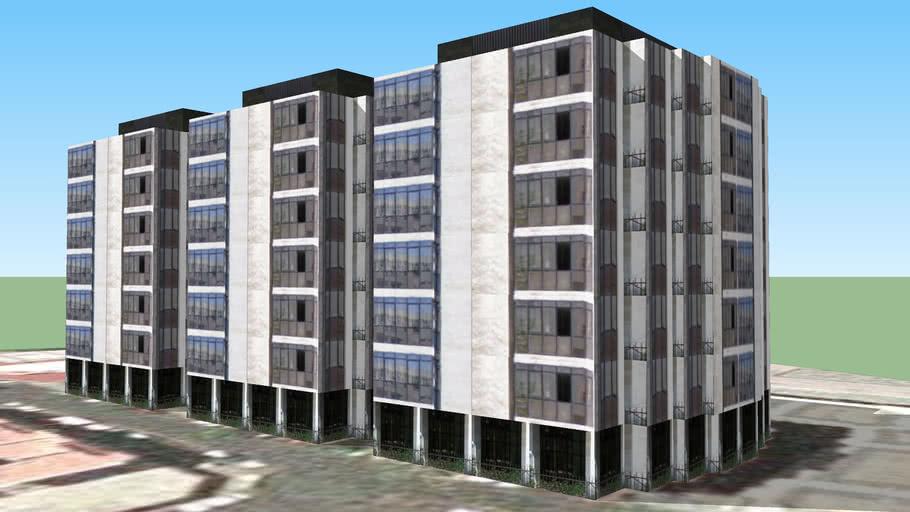 Edificio en la calle lugo 2