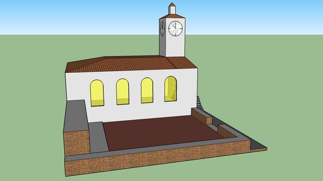 Kirche und Denkmal