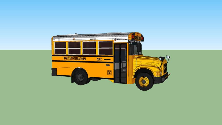 2002 International CE school bus (29 passenger)
