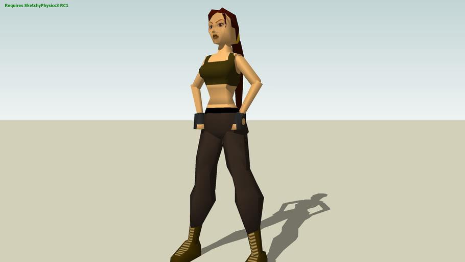 Lara Croft - TOMB RAIDER II - Training