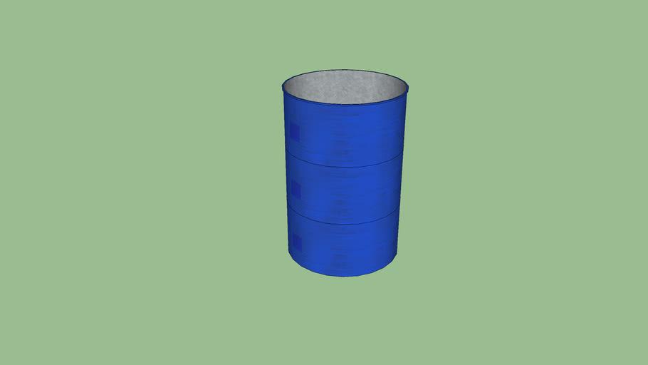 Empty 50 Gallon Drum
