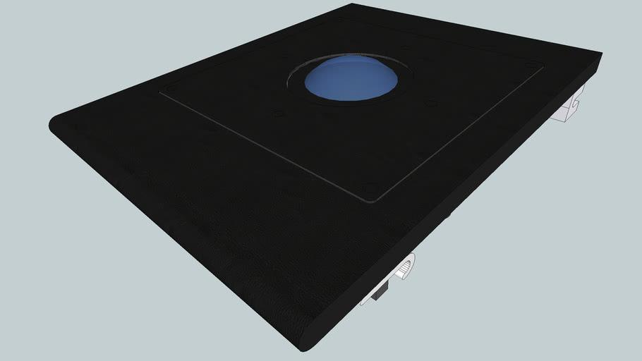 "8"" Modular Arcade Trackball Panel"