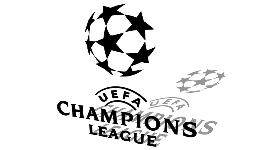12++ Uefa Champions League Logo White