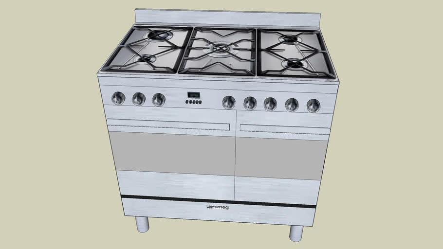 SMEG scb92mfx5 Centre de cuisson