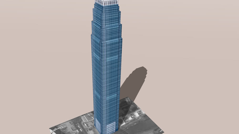 Model of the Two International Finance Centre