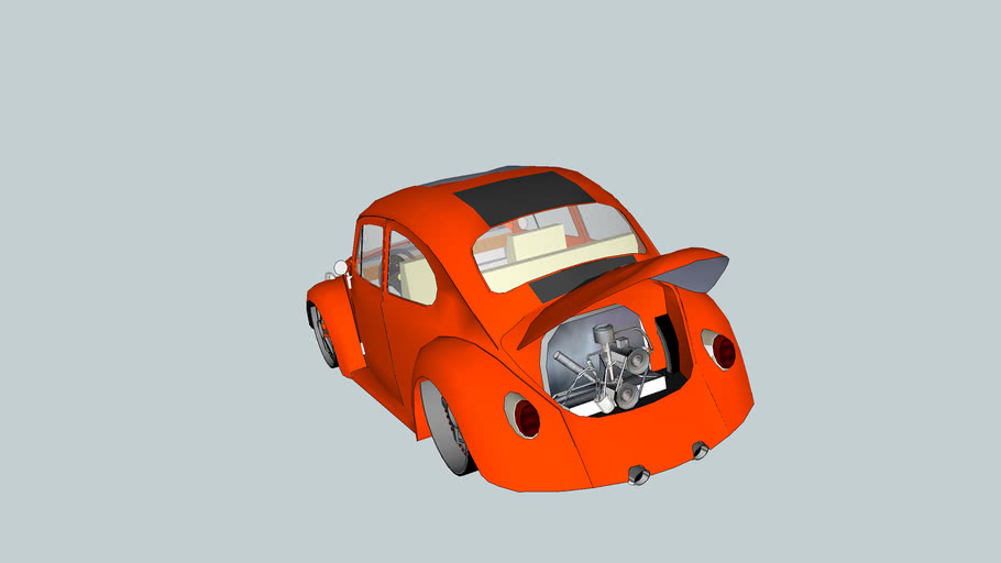 Fusca modific tuning