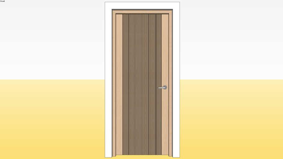 Panel Door D12 800 x 2100 Jamb 4