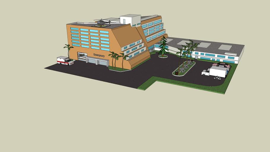 Large Florida Hospital