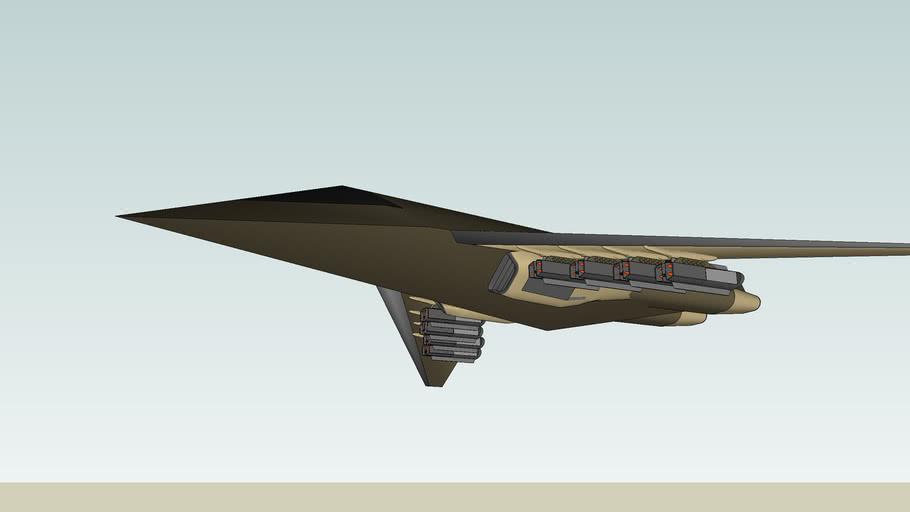 UGA-CF9  tactical-stealte bomber