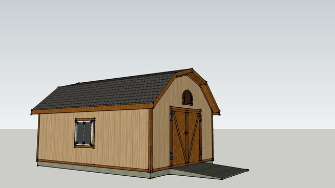 Shed For Tractor And Orther Yard Tools