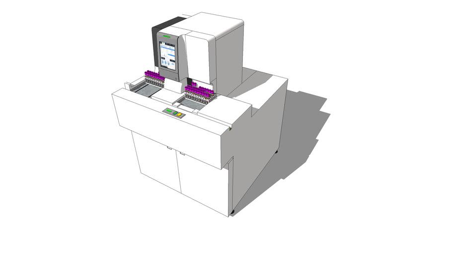 Module HbA1c HPLC Mindray H50 P sur chaine CAL 8000 1.0