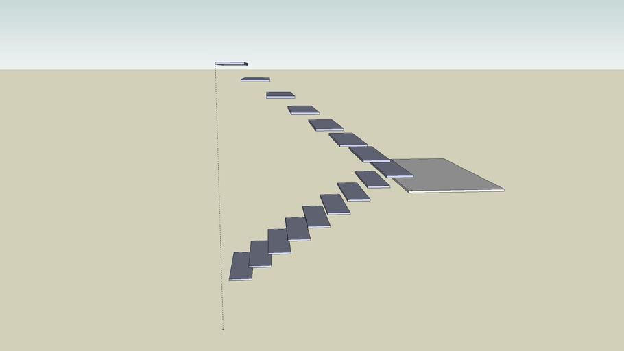 Scissor Stair