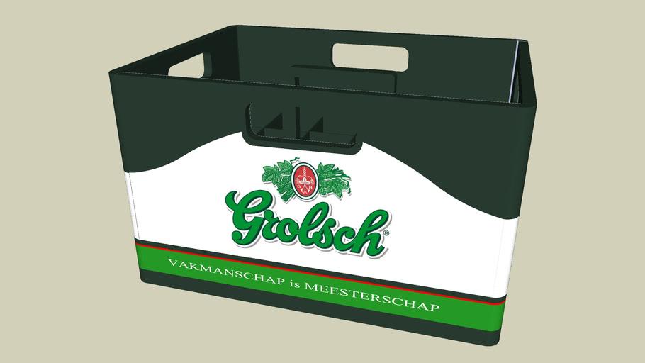 beer crate grolsch