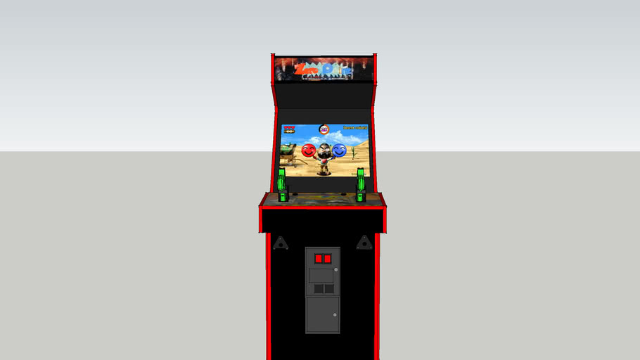 Zero Point Arcade (MK Cabinet)