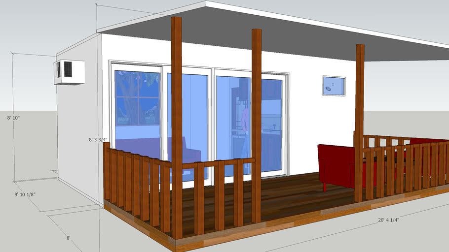#14 Container House 20ft