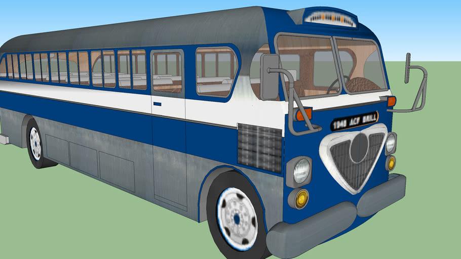 1948 Brill AMERICAN VINTAGE BUS (resubido)