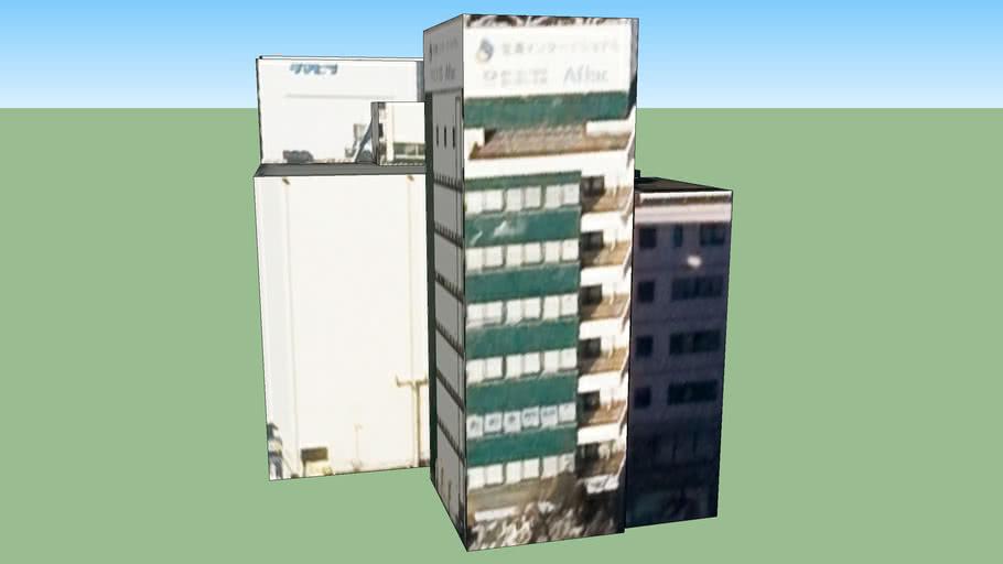 Gebäude in Fukuoka, Präfektur Fukuoka, Japan
