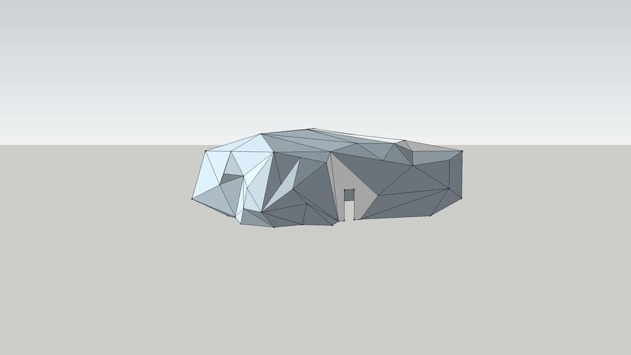 Man made Rock Dwelling
