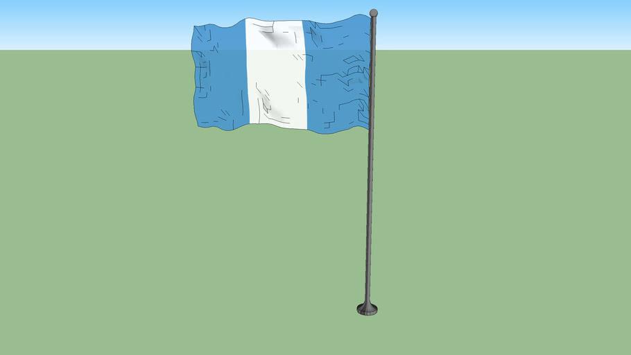 Civil ensign of Guatemala