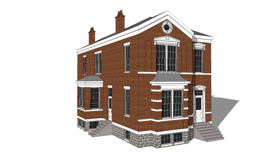 Renaissance Revival-Style Mansion