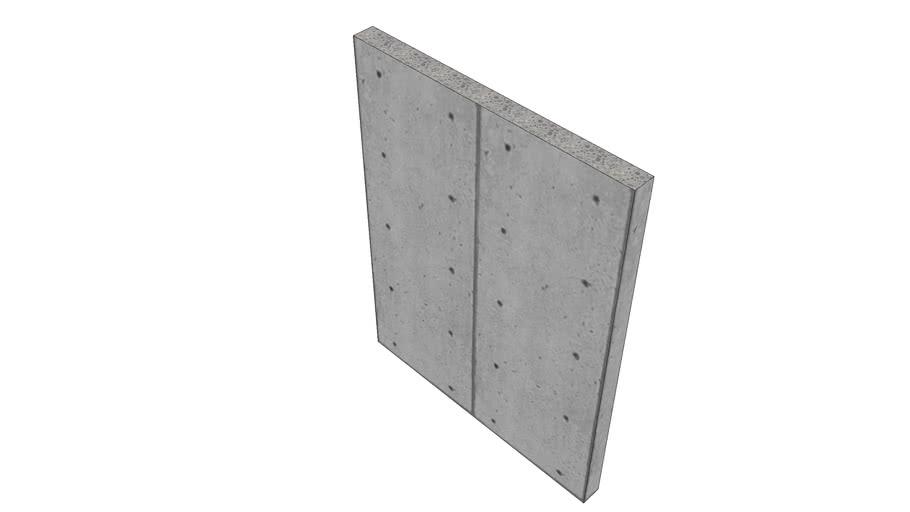 Betonwand 15x200x260